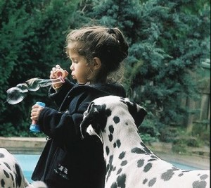 Jasmine med Greta 2001