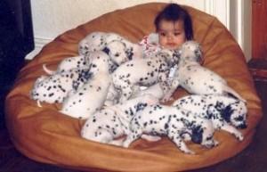 Nicole med C-kullen 1997 Jasmine med Greta 2001